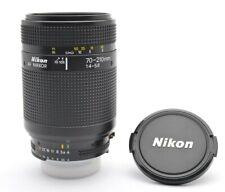 Nikon AF Nikkor 4-5,6 / 70-210 mm Tele Zoom Lens Objektiv + Cap f15