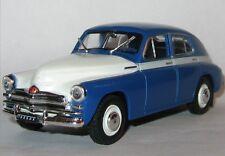 Legendary cars of the USSR. GAZ-M20V POBEDA. DeAgostini model scale 1/43
