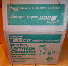 TACO 007-F5-Cast Iron Circulator New In Box