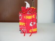 Nfl Kansas City Chiefs, red Cotton Fabric Handmade square Tissue Box Cover