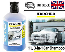 Karcher Snow Foam Bottle Pressure Washer Detergent Car Shampoo Plug Clean 3 In 1
