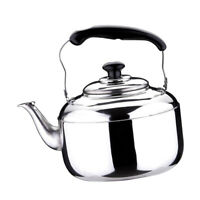 Kettle Whistling Tea Kettle Kitchen Stovetop Camping Gas aus Stainless Steel