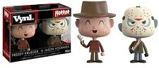 Box Set 2 Figure Freddy Krueger Jason Vorhees 10cm Vinyl Original Funko Horror