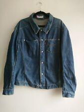 Men's Levi's Blue Denim Jacket Size XL Snap 70100 Red Tab Engineered Shacket