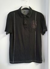 UK Style By French Connection Men's Black Polo Shirt Size S