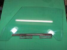 TRIUMPH TR4 TR4A-  LEFT SIDE DOOR WINDOW GLASS- Very Nice, Original Condition