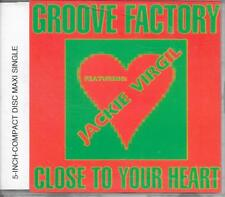 GROOVE FACTORY ft JACKIE VIRGIL - Close to your heart CDM 3TR Euro House 1991