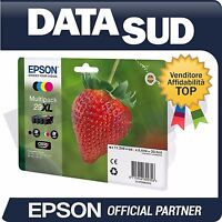 CARTUCCE ORIGINALI EPSON 29XL MULTIPACK XP-235,XP-332,XP335,XP-432,XP-435