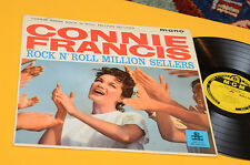 CONNIE FFRANCIS LP ROCK 'N' ROLL MILLION SELLERS ORIG UK 1960 LAMINATED MONO