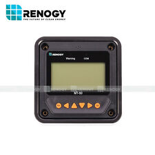 Open Box Renogy MT-50  Remote Meter LCD Monitor 20A 40A MPPT Charge Controller
