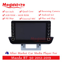 "9"" Quad Core Android 9.1 Car non dvd Media Player GPS For Mazda BT 50 2012-2019"