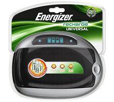 Energizer Universal Cargador Pilas para AA AAA 9v C D