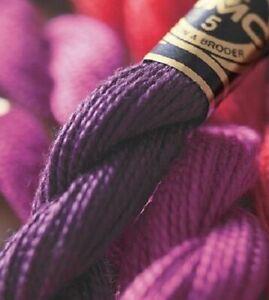 1 x DMC Perle/Pearl Cotton No5 402 - 543