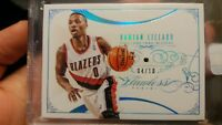 Damian Lillard 2013-14 Panini Flawless Saphir RC 4/10 encased sealed rookie