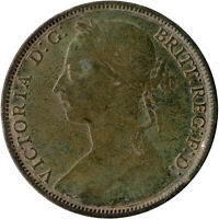 1884 ONE PENNY OF QUEEN VICTORIA      #WT505