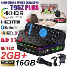 Superview T95Z Plus S912 2GB 16GB 7.1 ocho núcleos Android TV Box 5Ghz Wi-fi + 4K