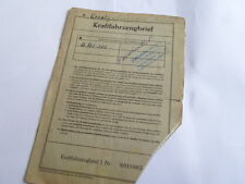 INFORME DE ÉPOCA 1939 OPEL OL 38 Olympia KADETT 37CV 1500 Hoja de datos WD