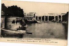 CPA Tuiliéres-Barrage de la Dordogne-Etat des travaux (232633)