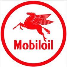 Mobil Oil Mobiloil gasoline racing vintage Style advertising sign