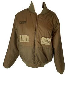 Vintage Columbia Coat Duck Hunting Reversible Bomber Insulated Jacket Size M