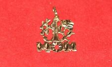 LQQK Real 14K yellow GOLD PENDANT charm # 1 MOM mother NUMBER ONE Parent