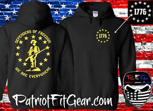 Hoodie,Defenders Of Freedom,We Are Everywhere,Molon Labe,We The People,Minuteman