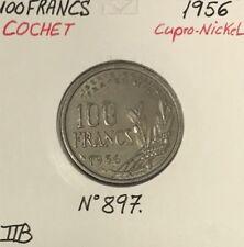 100 FRANCS COCHET - 1956 - Pièce de monnaie en Cupro-Nickel // TTB