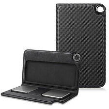 Protective Case for Kardia Mobile PU Leather Carrying Cover w/ Magnetic Closure