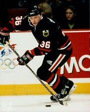 Alex Zhamnov Chicago Blackhawks # 36 Unsigned Licensed NHL Glossy 8x10 Photo (A)