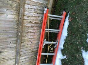Keller 24' fiberglass extension ladder model 5124