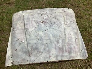 Triumph TR3 Original Hood or Bonnet Needs Repair