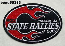 2007 TUCSON ARIZONA HARLEY DAVIDSON OWNERS GROUP STATE HOG H.O.G. RALLY PATCH