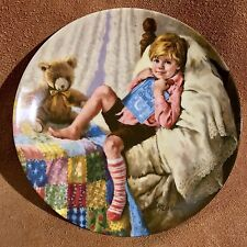 Mother Goose Diddle Diddle DumplIng Plate John McClelland 1984 #16490J Coa