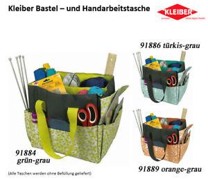 Kleiber - praktische Bastel- und Handarbeitstasche in drei Farbvarianten