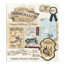 Debbi Moore Diseños Nostalgia (masculino) artesanías CD ROM (324989)