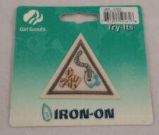 Girl Scout Patch Art To Wear Try-Its New Uniform Patch Gs