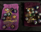 Lot of 24 pokemon marbles with two bags mixed