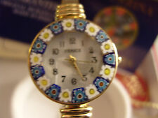 Damenuhr Uhr aus original Muranoglas Schmuck Murano Glas UNIKAT Handarbeit bunt