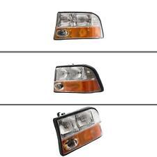 New GM2502173 Left Headlight for GMC Sonoma 1998-2005