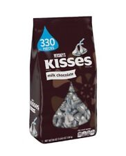 2019 Stock Hershey's Kisses Milk Chocolate 1.58kg 56oz Made in USA 330 pieces