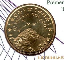 Slovénie 2008 - 50 Centimes d'Euro 148000 exemplaires Provenant du coffret BU RA