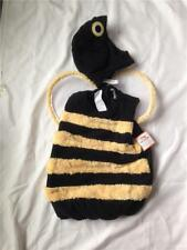 NEW POTTERY BARN KIDS BUMBLE BEE HALLOWEEN COSTUME CHILD SIZE 7 8