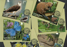 Reintroduced Species 2018 - Royal Mail Franked PHQ Stamp Cards - 17.04.2018