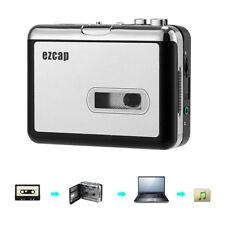 Convertitore Cassetta MP3 Supporto SD Card 32GB Jack Audio 3.5mm 2x Batterie AA
