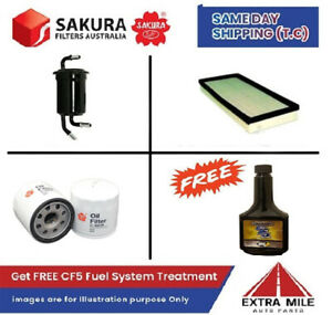 SAKURA Filter Kit For KIA SPECTRA fB TE 1.8L 2001-2004