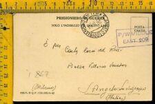 WW 2 Militare Posta Prigionieri Egitto per Sant' Angelo Lodigiano Lodi I 867