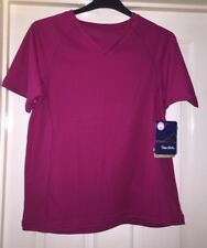 683b9fca626fe BNWT Peter Storm Cerise Pink Cool Max Top, Size 20 - Fab!