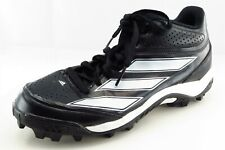 adidas Shoes Size 9.5 M Black Baseball Synthetic Men