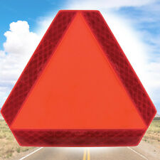 Warning Alert Slow Moving Vehicle Reflective Triangle Deflect Golf Cart Car Sign