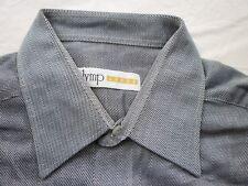 E7881 Olymp Luxor Businesshemd Kombimanschette Gr.42 schwarz, weiß